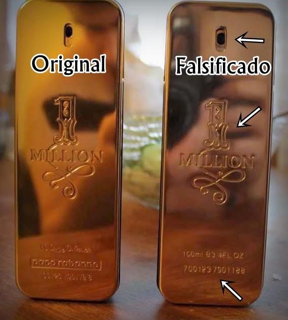 bb8d39c49 Imagem auto-explicativa, apresentando as diferenças entre um perfume  original e falsificado (clique na imagem para ampliar)