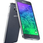 Samsung Galaxy Alpha no Paraguai