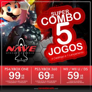 Super Combo 5 Jogos