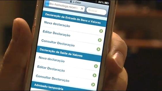e-dbv no celular