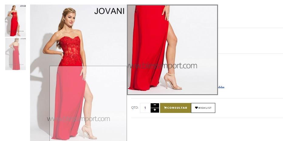 detalhes dos vestidos