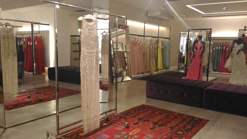 Setor de vestidos de luxo - Bless Import