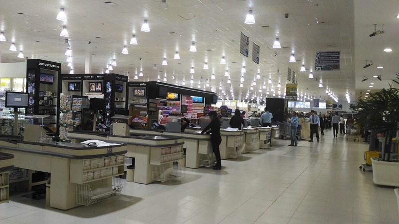 Interior do Shopping China