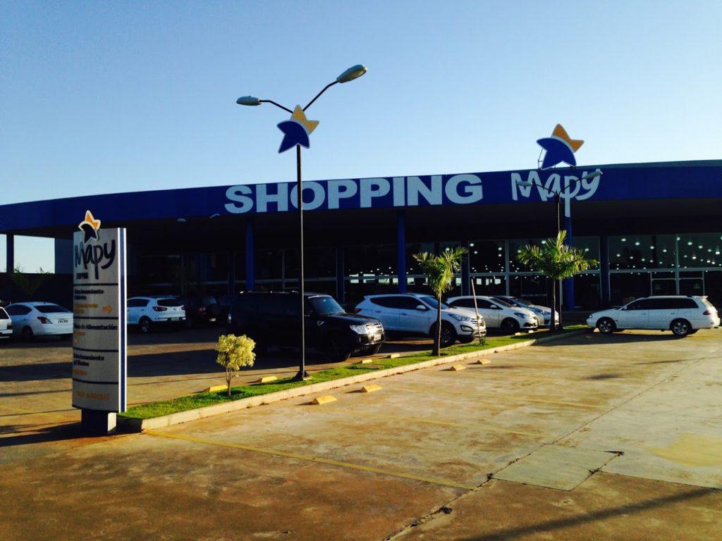 Fachada do Shopping Mapy