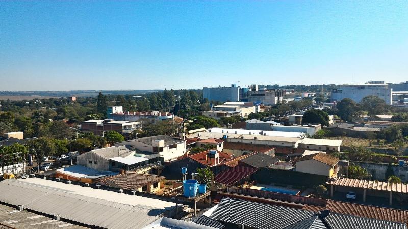 Cidade vista de cima pelo mirante do Shopping Queen Anne